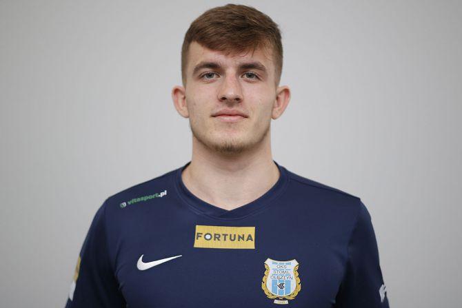 Jakub Mysiorski w pierwszej drużynie Stomilu