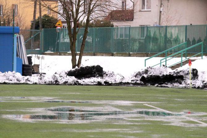 Stomil i Sokół mogli zagrać w piłkę wodną