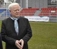 Heinz Keppmann z wizytą w Ostródzie. Fot. www.ostroda2012.pl